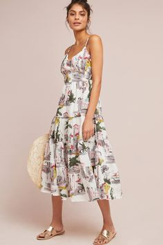 Cityscape Dress | Anthropologie