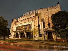 The Metropolitan Theater: Manila's Forgotten National Treasure Manila, Philippine Architecture, Philippines Culture, Art Deco Buildings, National Treasure, Mount Rushmore, Facade, Theater, Outdoor