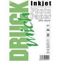 Druckmich glanzend fotopapier A4, 220 gram,dubbelzijdig