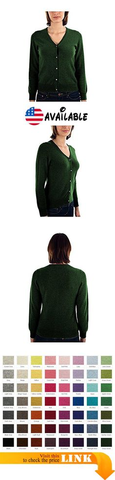 B00OBH8KXC : Parisbonbon Women's 100% Cashmere V-Neck Cardigan Color Deep Green Size 5X. 2 Ply 100% Cashmere Classic Cardigan. Order Arrive(11-17 Business Days) = Order Porcessing Time(8-12 Business Days)  Shipping Time (3-5 Business Days). Worldwide Shipping Available.. Hand Washing or Dry-clean to ensure its Longevity.. Premium Grade Cashmere From Inner Mongolia #Apparel #SWEATER