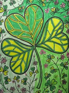 Artsonia is a kids art museum where young artists and students display their art for other kids worldwide to view. This gallery displays schools and student art projects in our museum and offer exciting lesson plan art project ideas. Saint Patricks Day Art, Spring Art Projects, Irish Art, Art Lessons Elementary, Living At Home, Art Lesson Plans, Art Classroom, Art Activities, Art For Kids