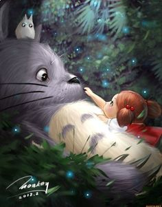 Totoro - Need to watch this one day.