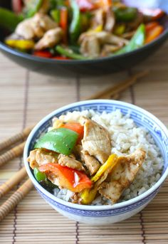 Miso Chicken with Bell Pepper with Japanese Seven Spice recipe by SeasonWithSpice.com @seasonwithspice