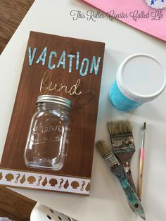 DIY Vacation Savings Jar - This Roller Coaster Called Life