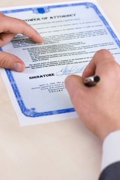 What you need to know about assigning Power of Attorney