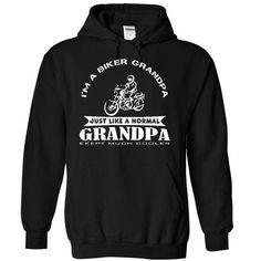 I am a biker grandpa, just like a normal grandpa exept much cooler - Limited Edition #sunfrogshirt