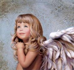Mercy~Nancy Noel. I love the way she captures children's faces- all her art work is fantastic. I have several and also have her book.