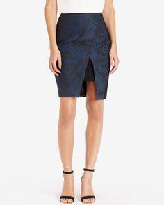 Jacquard skirt - Black   Skirts   Ted Baker UK