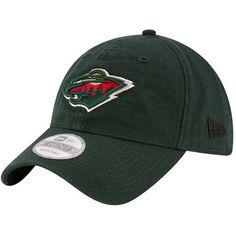 Men's New Era Green Minnesota Wild Core Shore 9TWENTY Adjustable Hat