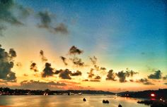 Sunset on the Mandovi
