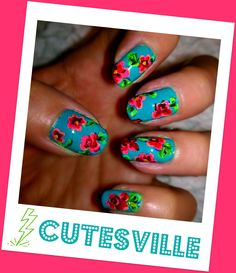 Betsey Johnson Inspired Nails!