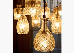 Decanterlight Clear Crystal Bell - beautiful!