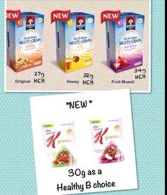 New cereals