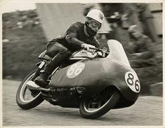 John Hartle  Norton 1957 Junior TT