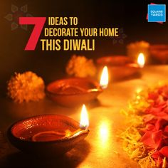 Diwali The Festival Of Lights Is Around Corner And Everybody Gearing Up For Some Major Decorations We Bring To You 7 Ideas Decorate Your This