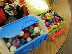"Classroom management strategy that rewards students with pom poms (""warm fuzzies"") that can be traded in for treasure chest items or coupons at the end of the week. Classroom Procedures, Classroom Behavior, Future Classroom, Classroom Organization, Classroom Incentives, Classroom Discipline, Behavior Incentives, Positive Behavior, Positive Reinforcement"