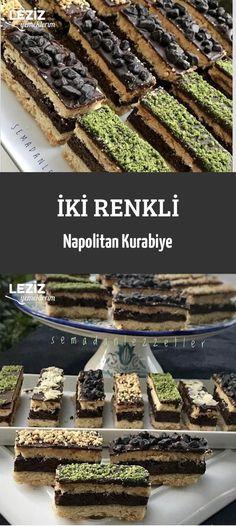 İki Renkli Napolitan Kurabiye Food Carving, Tart, Ice Cream, Cooking, Desserts, Cakes, Kitchen, Pastry Chef, No Churn Ice Cream