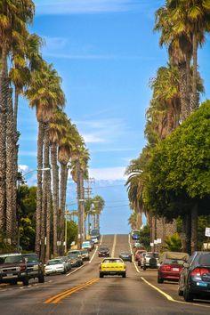 Like a californian film scene!