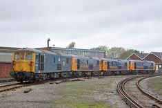 73119, 73141, 73212 and 73136 Eastleigh Works 6th November 2013