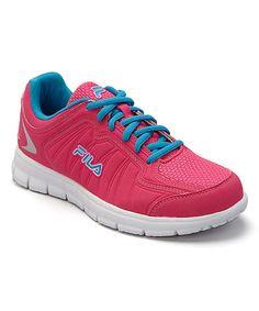 Look at this #zulilyfind! Pink & Athletic Blue Escalight Running Shoe - Women #zulilyfinds