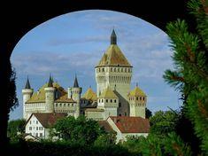 photo chateau vufflens suisse - Recherche Google
