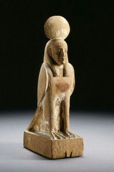 Wooden scultpure of Ba  1550-1070 B.C.