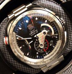TAG Heuer Grand Carrera Caliber 36 RS Caliper Chronograph Watch Review   aBlogtoWatch