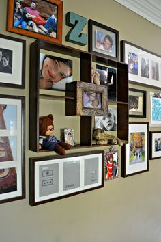 Loving this awesome gallery wall!