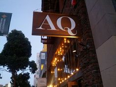 """Recently ranked San Francisco's #1 """"Farm-to-Table"""" restaurant, AQ Restaurant & Bar elevates the trend to another level. Featuring a menu & decor that changes seasonally, this reasonably priced eatery is a must for all foodies."""