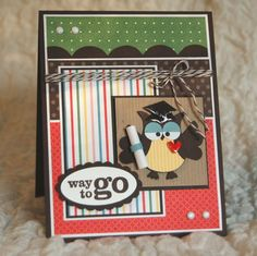 graduation card #cards #stampin_up