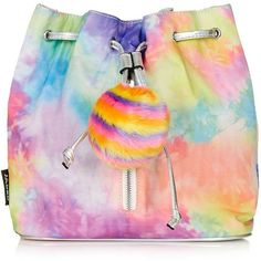 **Pastel Tie-Dye Backpack by Jaded London - Topshop ❤ liked on Polyvore featuring bags, backpacks, pastel tie dye backpack, day pack backpack, tie-dye backpacks, rucksack bag and backpack bags