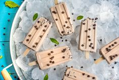 Blissed Out Fudge Pops