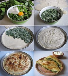 Pite me spanaq spinach pie Albanian way of doing pie – Safebo – macedonian food Albanian Cuisine, Albanian Recipes, Lithuanian Recipes, Bosnian Recipes, Albanian Food, Bosnian Food, Food Huggers, Macedonian Food, Decadent Food