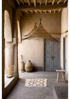 date-palm hanging lamp