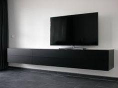 Afbeeldingsresultaat voor tv meubel zwart
