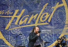 Musician <a gi-track='captionPersonalityLinkClicked' href=/galleries/search?phrase=Danny+Worsnop&family=editorial&specificpeople=7670525 ng-click='$event.stopPropagation()'>Danny Worsnop</a> of We Are Harlot performs at MAPFRE Stadium on May 15, 2015 in Columbus, Ohio.