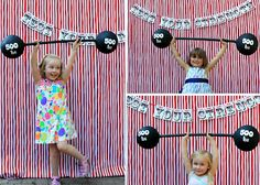 Welcome to the Circus! Crazy party with the most darling games, invitations, and food!