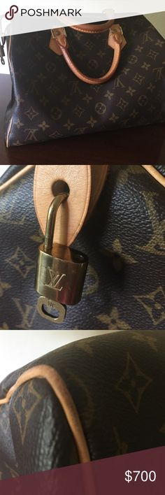 62ff2021334 NO TRADING LV SPEEDY 30 excellent condition This bag is the traditional  speedy 30, only