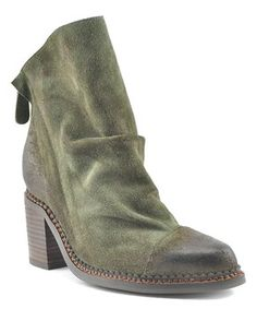 Forest Green Millie Suede Boot