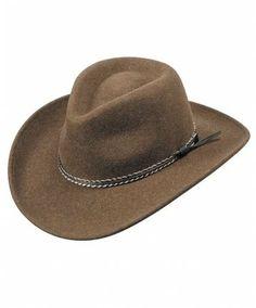"""""""Criffel"""" Olive Wool Felt Hat by Bailey"""