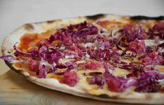 #pizza #radicchio #gorgonzola #viterbo #tuscia #sutri #vogliadi #cibo #food #italiana