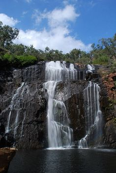 Mackenzie Falls, Grampians National Park, 3 hours NW of Melbourne.