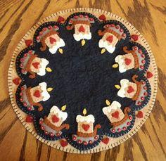 Vela mate Kit Kit de alfombra de Penny lana de por oneoftheflock