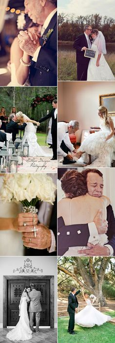 touching father daughter moments wedding photo ideas