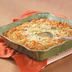 Comforting Broccoli Casserole Recipe | Taste of Home Recipes