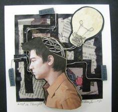 ARTISUN: Mixed Media Self-Portrait Collages