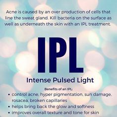 If you experience sun damage or acne an IPL is the perfect treatment for you. Sa… If you experience sun damage or acne an IPL is the perfect treatment for you. Safe, relatively painless and no downtime to watch your skin heel and transform! Skin Treatments, Intense Pulsed Light, Hair Removal, Skin Care Tips, Healthy Skin, Ipl Machine, Thoughts, Loosing Weight, Salon Marketing