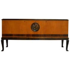 Swedish Art Deco Sideboard Credenza