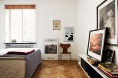 Bedroom. Vasastan/Atlas