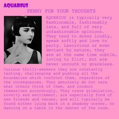 Aquarius - except I do care what others think of me.